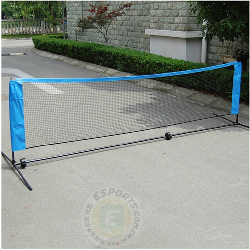 Portable tennis ball net for mini child teenage tennis ball rack 3 - 6 meters retractable table tennis table plastic strong mesh net portable net kit net rack replace kit for ping pong playing yc886657