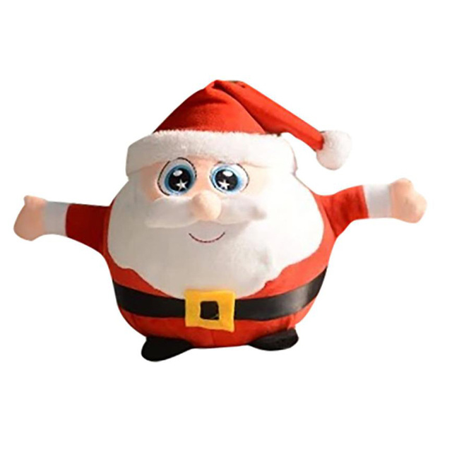muqgew 2017 new arrival hot sale father christmas plush toys christmas gift plush toys christmas decorations