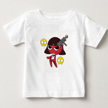 2-15 years old children t - shirt  kids Pure cotton clothing Keroro digital printing S-3XL size shirts MJ