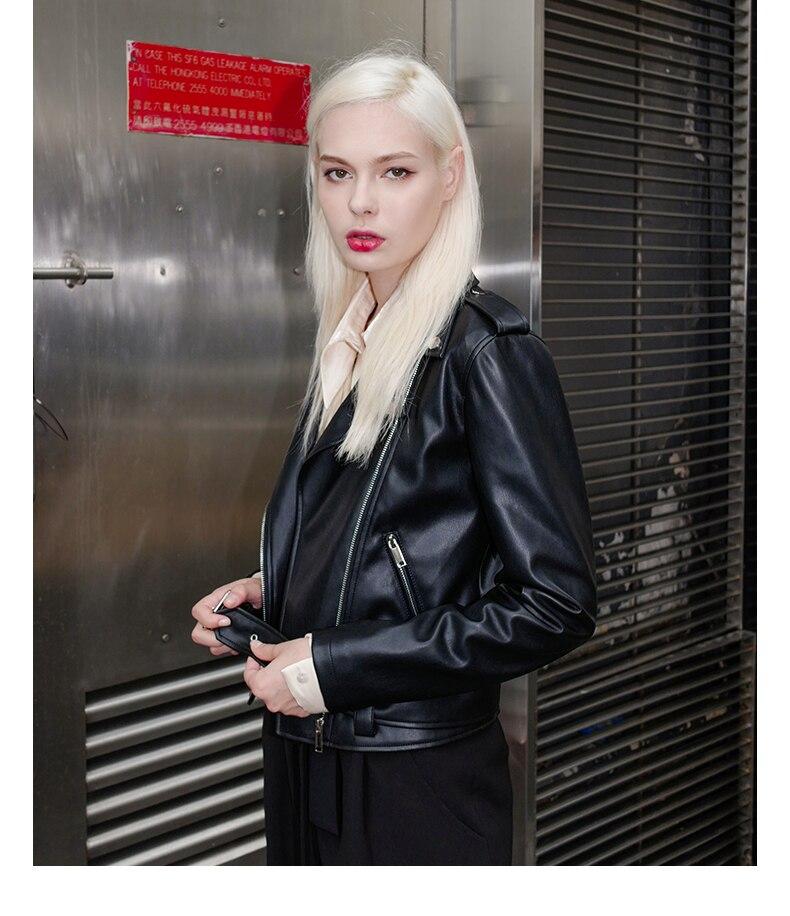 Vestes Cuir Femmes Nouvelle Style Automne Noir Simili Doux Mode Volants Directe Gx1206 Manteaux Livraison Black Pu Saahes Femelle npqzx