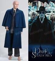 Набор темных теней 2012 г., комплект одежды из пальто с принтом «harnabas Collins»