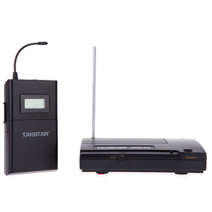 Image 4 - Takstar WPM 200/Takstar WPM 200R UHF Wireless Audio System Receiver LCD Display 6 Selectable Channels 50m Transmission Distance