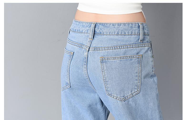 HTB1vMu6SpXXXXcCaXXXq6xXFXXX2 - Women High Waist Jeans Ripped Solid JKP127