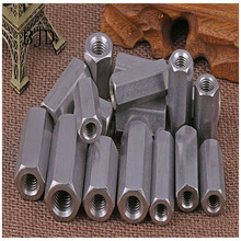 M5 M6 M8 M10 M12 304 Нержавеющая Сталь шестиугольная Удлиняющая гайка зубчатый шток винт крышка гайка колонна