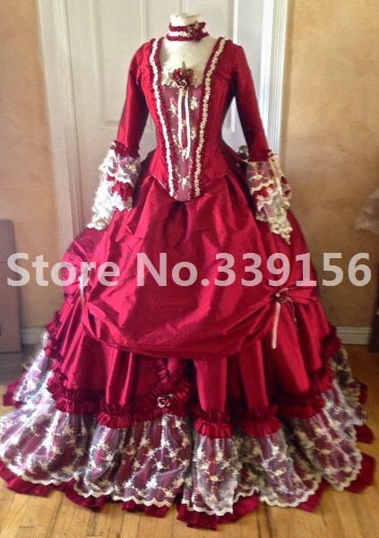 Rococo And Carnivale Gowns Royalty Princess Gown Costumes