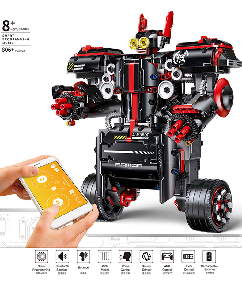 Idea MINDSTORMS EV3 Programme Robot WALL E Toys Model Building Bricks Blocks Educational toys Compatible 45544