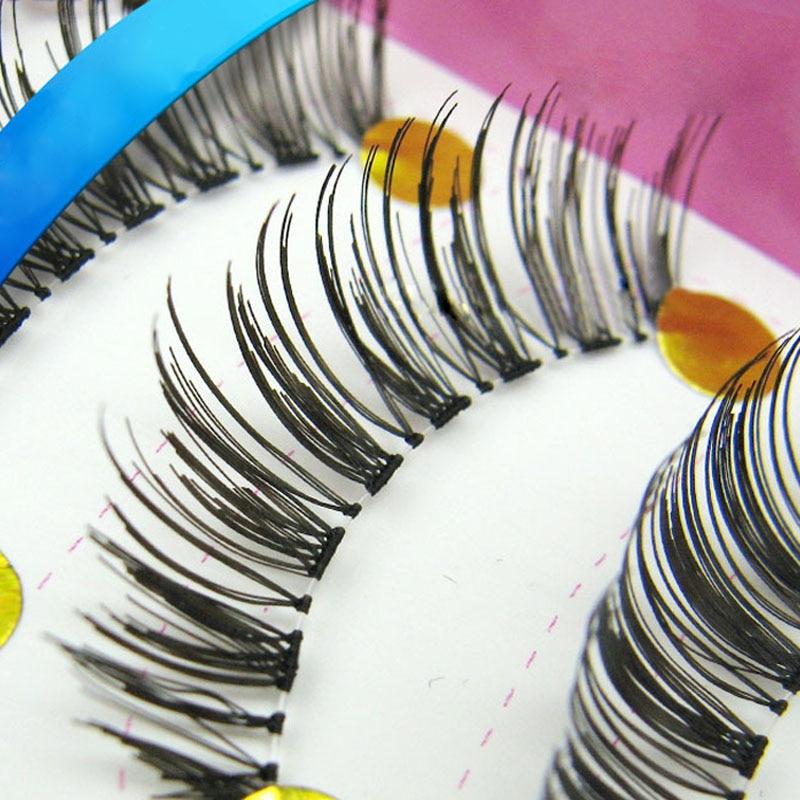 New Natural False Eyelashes 10Pair Handmade Line Eyelash Extension Eye Lashes Fake Eyelashes Maquiagem False Lashes