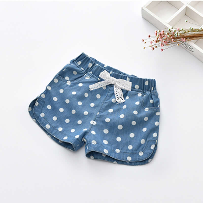 Girls   Shorts   Summer Casual   Short   Pants Hot Fashion Children Beach Pants Pantalones Cortos Denim   Shorts   Baby Thin Denim   Shorts