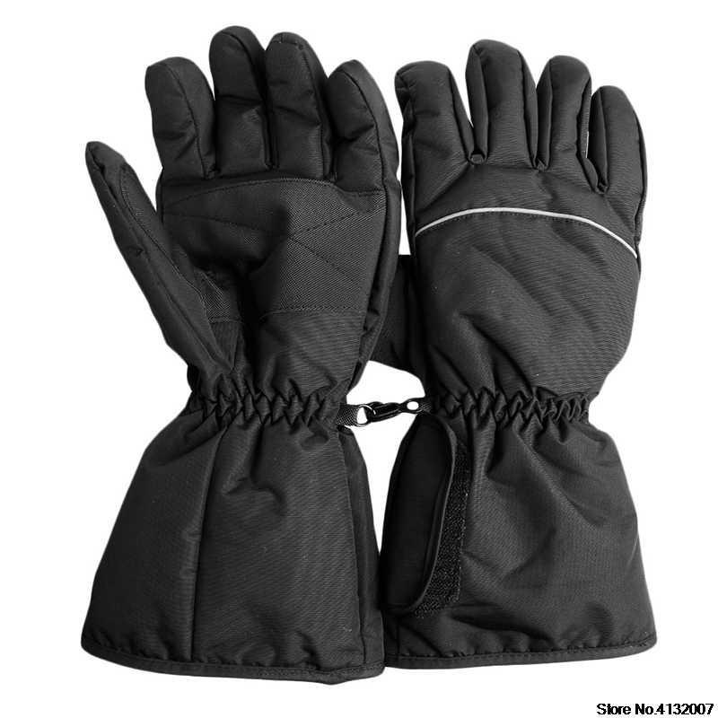 Sarung Tangan Listrik Baterai Panas Sarung Tangan Olahraga Temperatur Kontrol Isi Ulang untuk Sepeda Motor Berburu Musim Dingin Hangat 828 Promosi