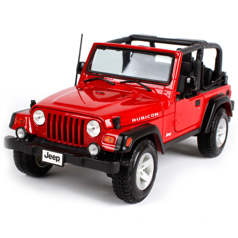 Maisto 1:18 JEEP WRANGLER RUBICON SUV Car Diecast Model Car Toy New In Box Free Shipping 31663 1 18 all new jeep wrangler willys 2017 cabrio off road vehicle suv alloy toy car