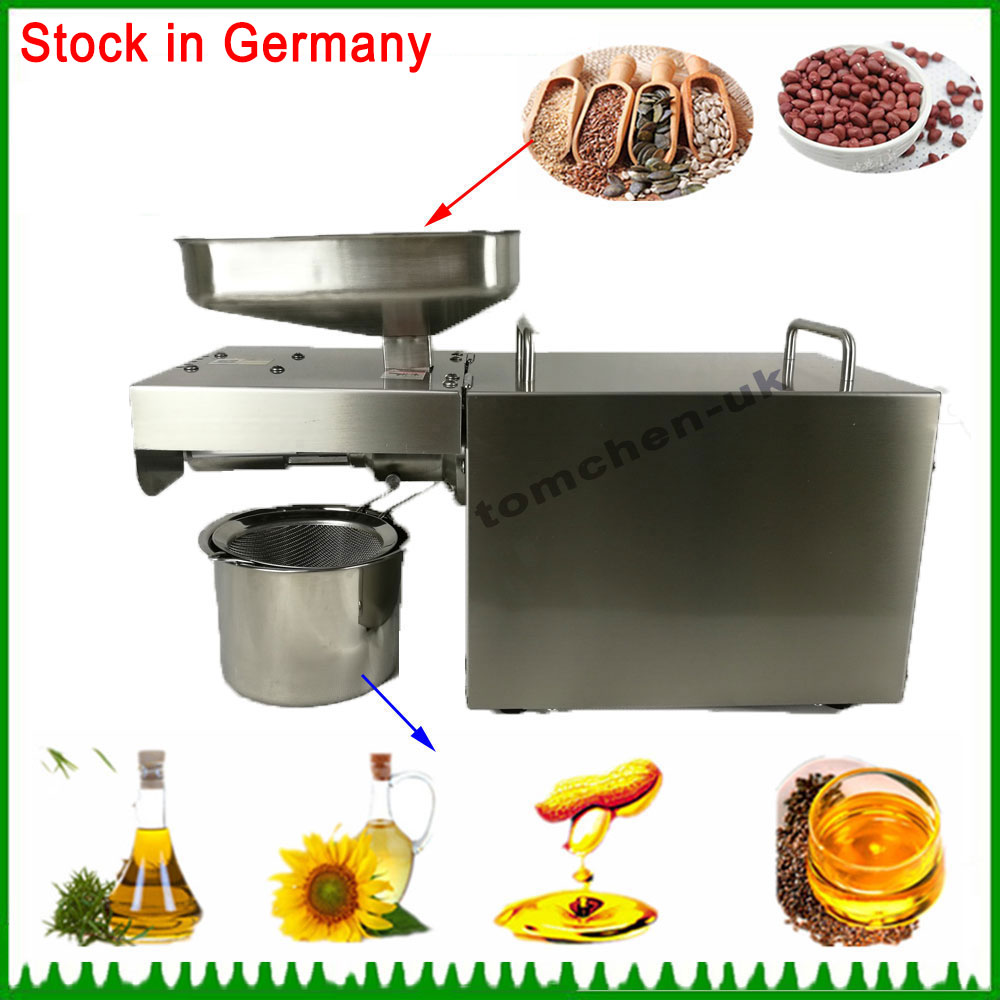 Good quality Household Small Oil Press Machine for Peanut, Sunflower seed, Black seeds, Flaxseed, Coconut Oil Extractor