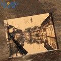 Китайский старинный городок  архитектура  продвижение  OEM Дневник  записная книжка  ретро блокнот  под заказ  винтажный блокнот  живопись  N339