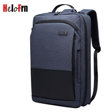 HeloFrn Multifunction Business Men Backpack For Laptop 15.6 inch Carry On Travel Bag Male Hand bag Weekend
