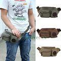 Men Canvas Casual Travel Riding Motorcycle Messenger Shoulder Sling Chest Hip Bum Belt Fanny Pack Waist Bag