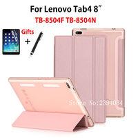Super Slim Case For Lenovo Tab4 8 TB 8504X TB 8504F TB 8504N TB 8504 8