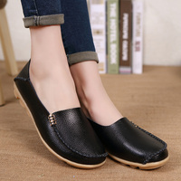 New Style 2017 Fashion Casual Loafers Women Flats Shoes Summer Slip On Comfortable Flat Shoes Woman