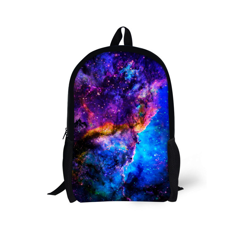 New Bling Galaxy Printing Children School Bags Teenager Girls Book Bags,Kids Fashion Schoolbags Mochilas Child Shoulder Back Bag