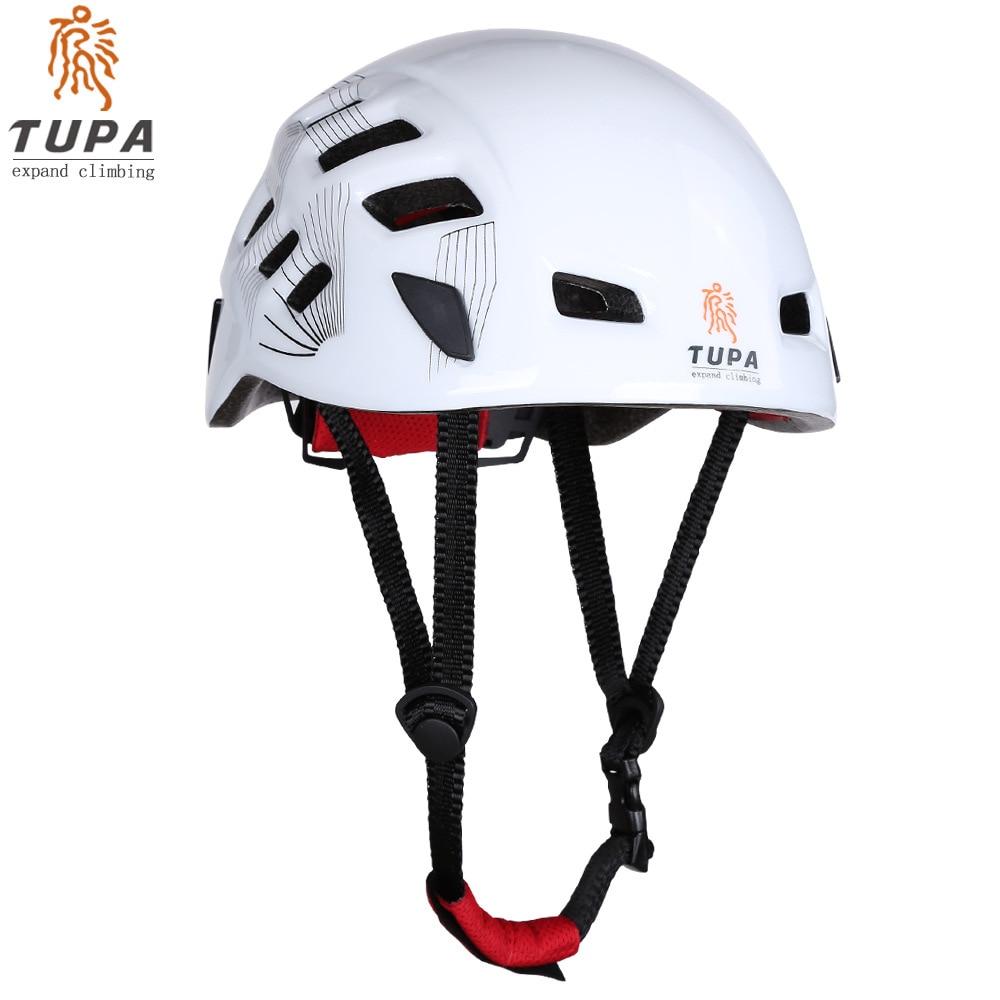 TUPA GRATIS SHIPPING Ny Udendørs Sport Hjelm Beskyttelseshjelm Cykling Cykel Rescue Rock Climbing Helmet Ice Mountain Hjelme