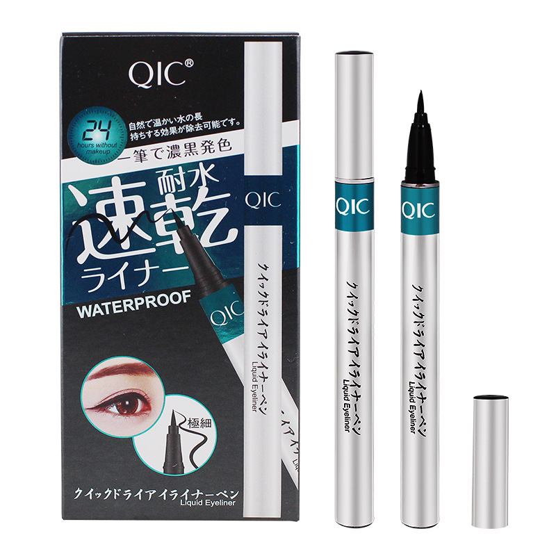 New Waterproof Liquid Eyeliner Eyeliner Long lasting Makeup Cat Style Easy to Use Black Pigment Eyeliner Cosmetic Tools in Eyeliner from Beauty Health