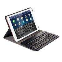Bluetooth Teclado Ultrafino Sem Fio Bluetooth Tipo de Caso Capa Para O Novo iPad 9.7 Polegada Ar 1/2