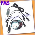 1 шт. RC USB Flight Simulator ФМС Кабеля Вертолет Контроллер
