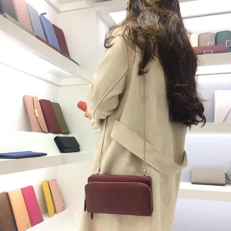Weichen Terbaru Mini Wanita Rantai Selempang & Messenger Tas Tas Bahu Tas Kopling Bolsas Multi-Fungsi Dompet Tas untuk Wanita