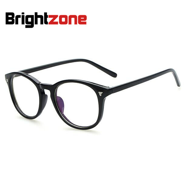 e2a70a51f9e 2016 Hot New Full Rim Vintage Eye Glasses Frame Men Women Myopia Eyeglasses  Fashion Optical Frame Plain Mirror Armacao De Oculos-in Eyewear Frames from  ...
