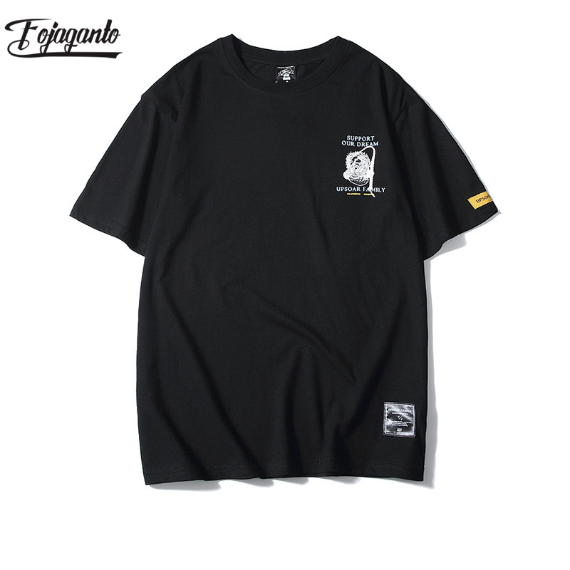 FOJAGANTO Fashion Brand Men T Shirt 2020 Summer Men New Fashion Printed T-Shirts Men's Short Sleeve T-Shirt