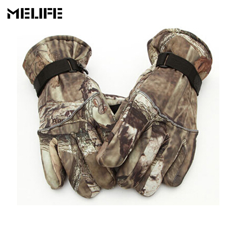 MELIFE Waterproof Ski Gloves Windproof Winter Snowmobile Snowboard Snow Men Women Sports Riding Motocross Thermal Skiing Glove