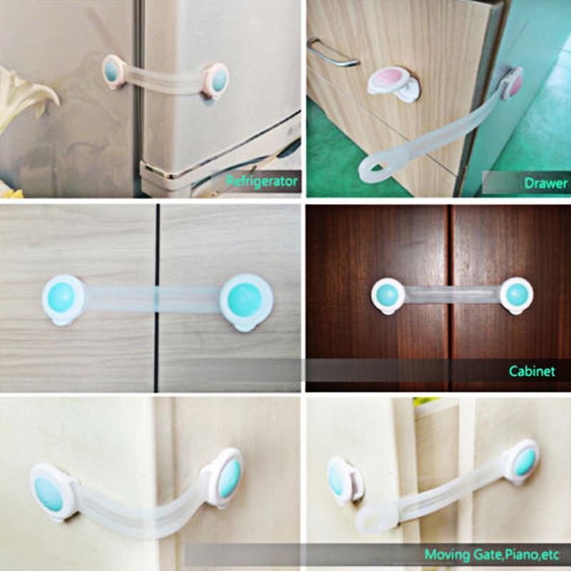 Verrouillage de sécurité bébé 10 pièces/ensemble | Protection contre les tout-petits, portes d'armoire à tiroirs, armoire, frigo, Protection des doigts des enfants