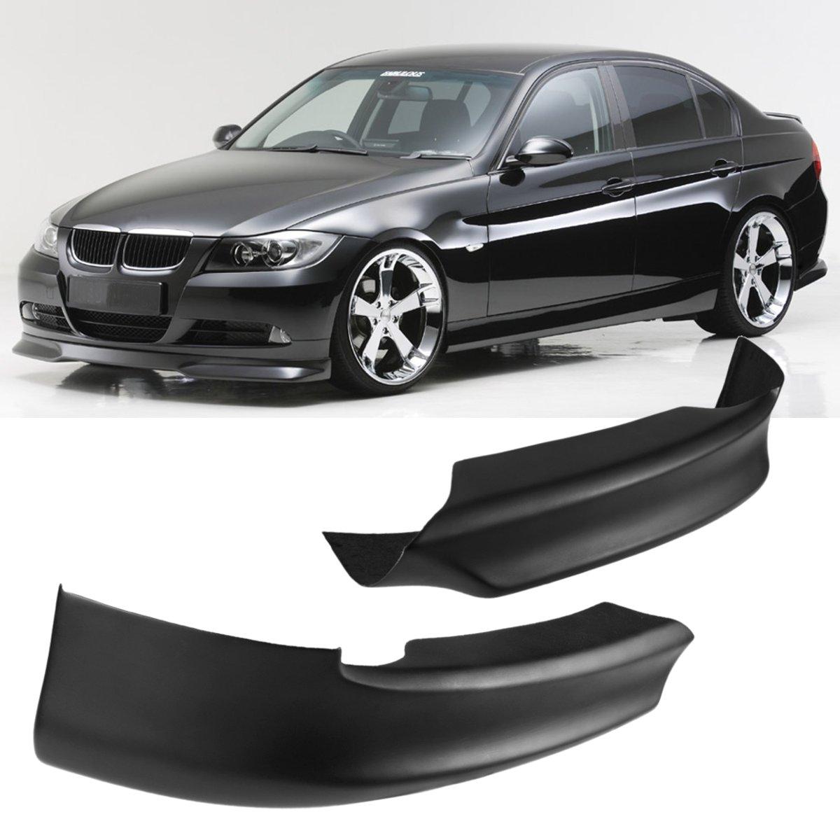 A Pair Front Bumper Lip Spoiler Splitter High quality For BMW E90 325i 335i 328i 330i 2005-2008 спойлер bmw e90 318i 320i 325i 330i m3