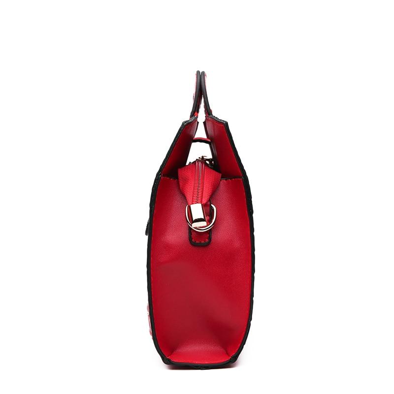 Image 5 - High Quality Crocodile Pattern Handbag New Fashion Personality Temperament Simple Shoulder Bag Wild Casual Messenger BagShoulder Bags   -