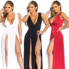 895ce1ca0 AVODOVAMA M verano las mujeres Noche Vestidos nueva moda Sexy V-cuello mujer  elegante vestido de fiesta en Club rojo