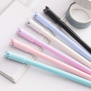 Wagging Cat Pen Ink Pen Promotional Gift Stationery School & Office Supply student Signature Pen Escolar Papelaria [category]
