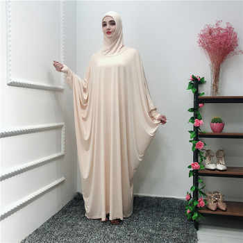 Ramadan Abaya Caftan Dubai Muslim Hijab Dress Jilbab Kaftan Abayas For Women Ropa Oman Elbise Vestidos Robe Femme Prayer Clothes - DISCOUNT ITEM  56% OFF All Category