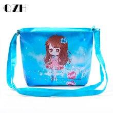 New 2016 Children Baby Girls Cute Cartoon Handbag Dsigns Shoulder Bags Women Messenger Bags  Multicolor Handbag Wholesale
