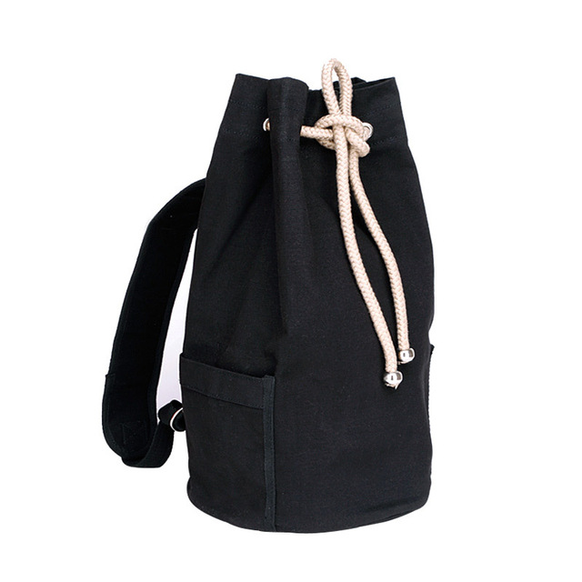 0b50350551 Best backpacks for men army duffle bag Black Canvas backpack drawstring bags  free shipping BFB000401