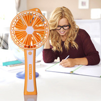 Mini USB Fan Portable Air Conditioner Home Office Mist Fan Cooling Electric Battery Powered Air Cooler