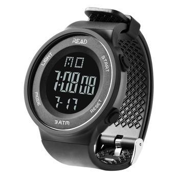 Leer 90003 reloj inteligente Digital deportivo para hombre con cuenta regresiva informal inteligente con IP68 impermeable para niños o adultos