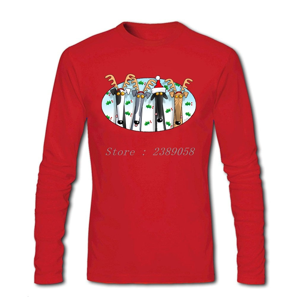 T-Shirt Men Greyhound Retro New Coming Cartoon Cheap Tees Brand Long Sleeve T Shirt Man Camisetas