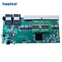 PoE inverse 8x10/100/1000M RJ45 Gigabit Ethernet commutateur Ethernet Fiber optique monomode et 2 SC carte de Port de fibre