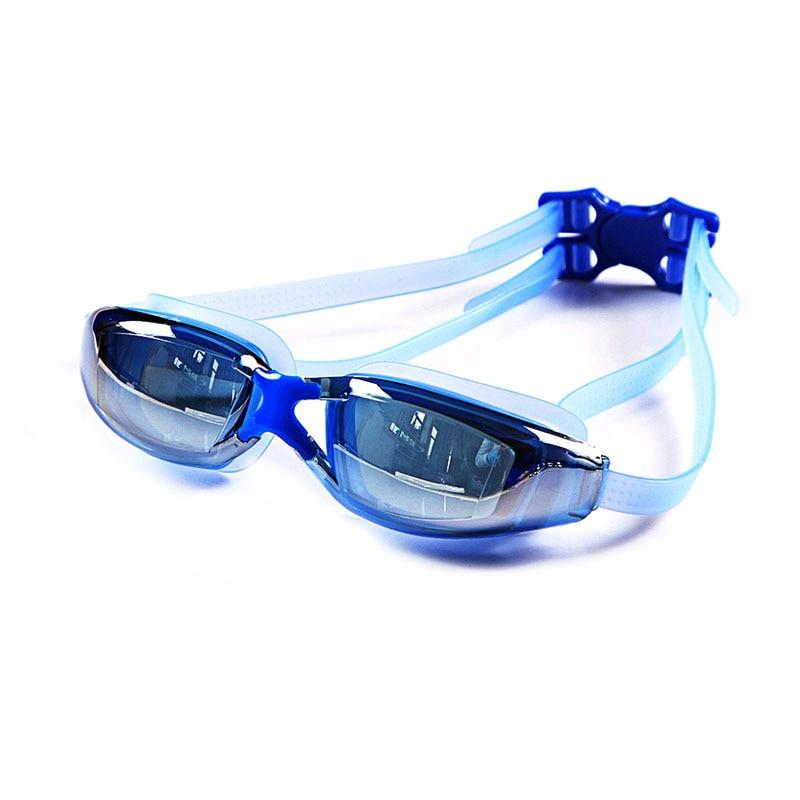 Mens Myopia Prescription Silicone Swim Glasses Anti-Fog And Waterproof Adult Professional Swim Eyewear 2