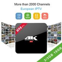 H96 PRO TV Box 2 3GB 16GB Android 7 1 Amlogic S912 Quad Core 2 4GHZ
