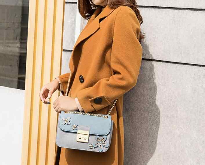 Бренд Doodoo женская сумка на плечо женская сумка из искусственной кожи 2018 женские сумки с цветочным принтом женские сумки с цепочкой с клапаном bolsos FR616