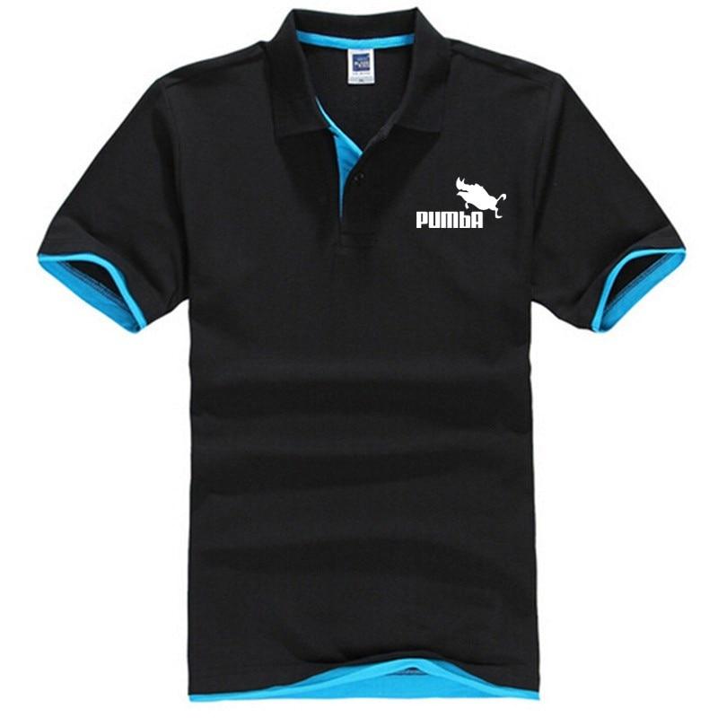 Fashion casual cute tshirt homme Pumba men women cotton cool Lapel t shirt lovely summer funny shirt XS-3XL poleras hombre