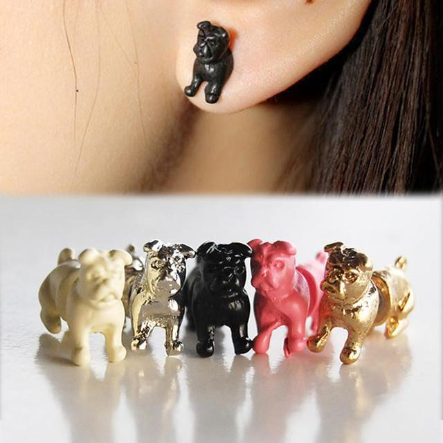 brixini.com - Charming Bulldong Stud Earring 1pc