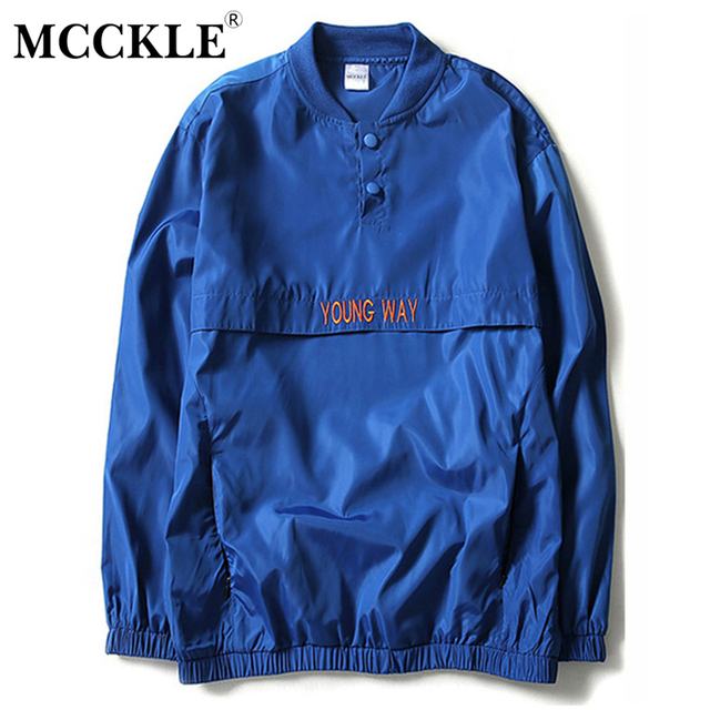 MCCKLE New summer thin reflective windbreaker Bomber Jacket Men ...