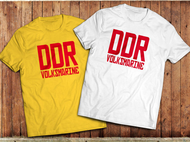 55d229a5946 100% Cotton for Man Shirts DDR East German Marine T-shirt, Volksmarine,