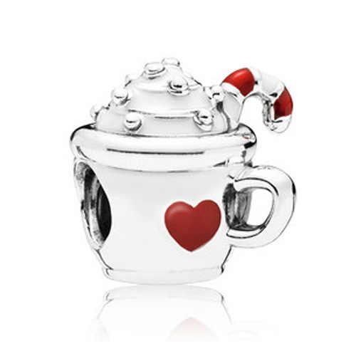Низкая стоимость, из серебра Цвет Shell сумка Кот Улыбка Медведь Бабочка Подвески со стразами Fit Pandora Браслеты и браслеты для Для женщин DIY