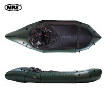 [MRS][Microraft]Micro rafting systems green inflatable packraft Kayak boat ultra-light ship boat fishing hiking drfting(China)